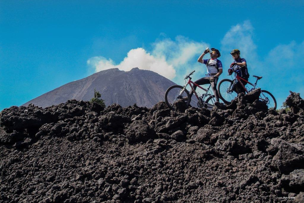 Mountainbiking in Guatemala