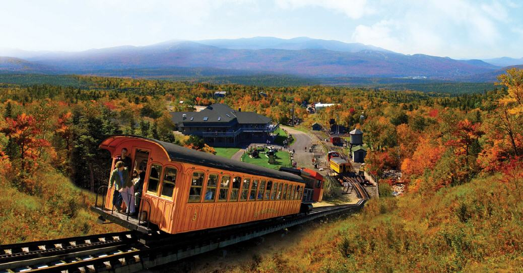 Cog Railway im Indian Summer (Neuengland/USA)