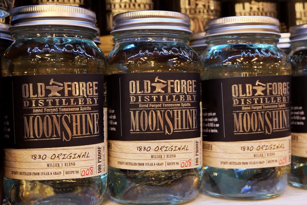 Old Forge Moonshine von Pigeon Forge, Tennessee